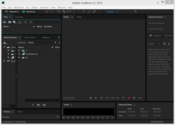 Adobe Audition CC 2015.2.1