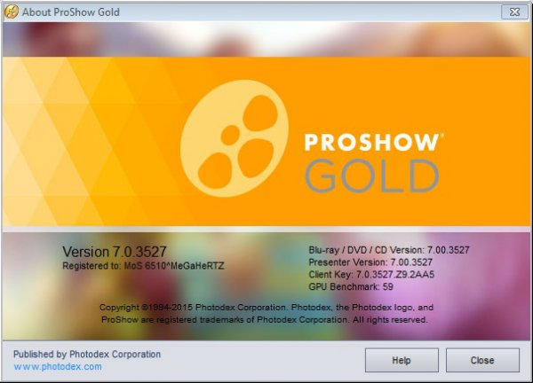 Photodex ProShow Gold 7.0.3527