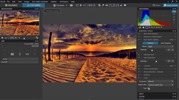 DxO Optics Pro 11.4.1 Build 12119 Elite