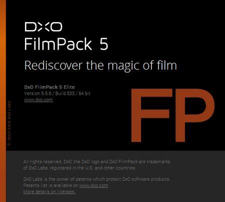 DxO FilmPack Elite 5.5.6 Build 533 x64