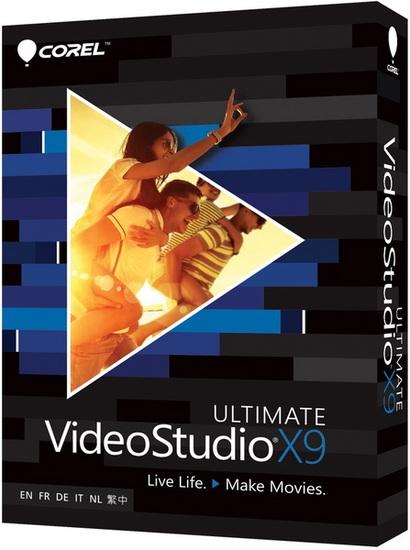 Corel VideoStudio Ultimate X9 19.5.0.35 + Content + Rus