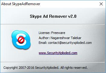 Skype Ad Remover 2.0 Portable