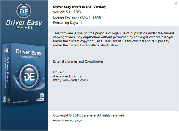 Driver Easy Professional 5.1.1.7383 + Portable