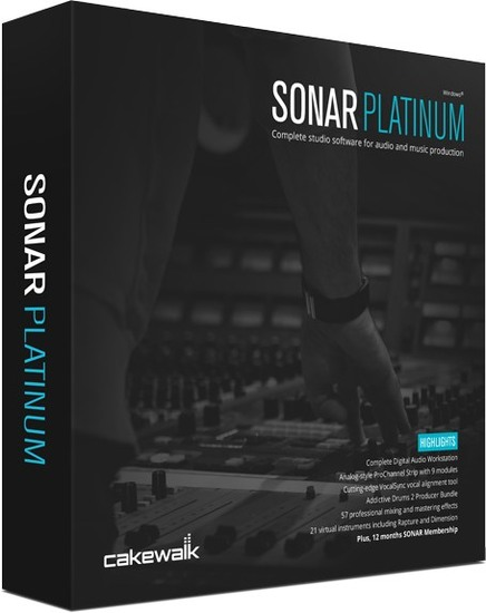 Cakewalk SONAR Platinum 22.9.0 Build 36 + Plugins