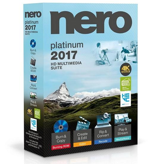 Nero 2017 Platinum 18.0.08400 + Content Pack