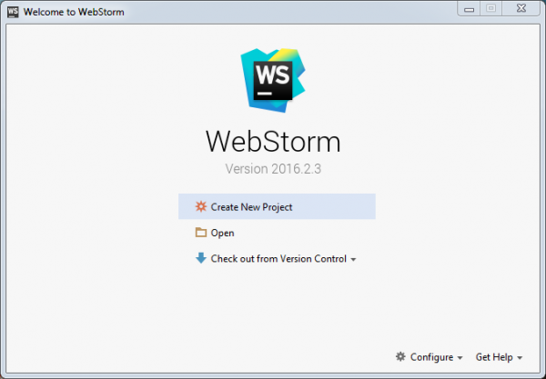 JetBrains WebStorm 2016.2.3