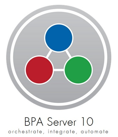 Network Automation AutoMate BPA Server Enterprise 10.6.0.3