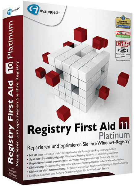 Registry First Aid Platinum 11.0.2 Build 2455