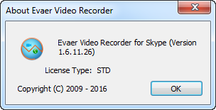 Evaer Video Recorder for Skype 1.6.11.26