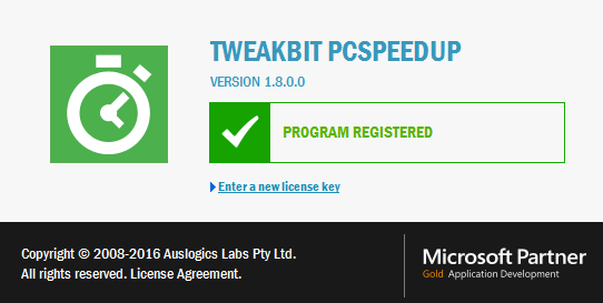 TweakBit PCSpeedUp 1.8.0
