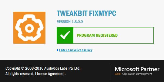 TweakBit FixMyPC 1.8.0
