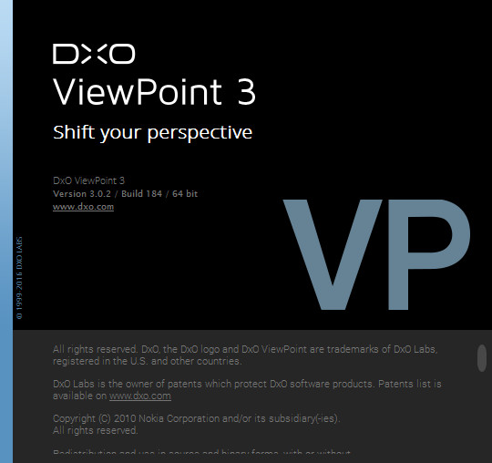 DxO ViewPoint 3.0.2 Build 184
