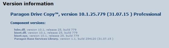 Paragon Drive Copy 15 Professional 10.1.25.779 + Boot Medias