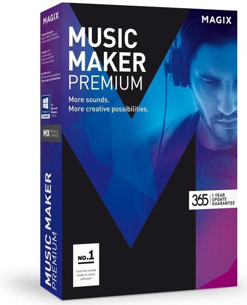MAGIX Music Maker 2017 Premium 24.1.5.112