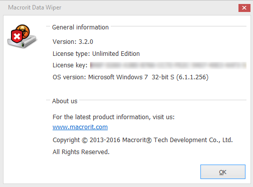 Macrorit Data Wiper 3.2.0 Unlimited Edition