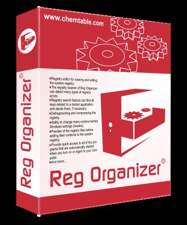 Reg Organizer 7.80 Final + Portable