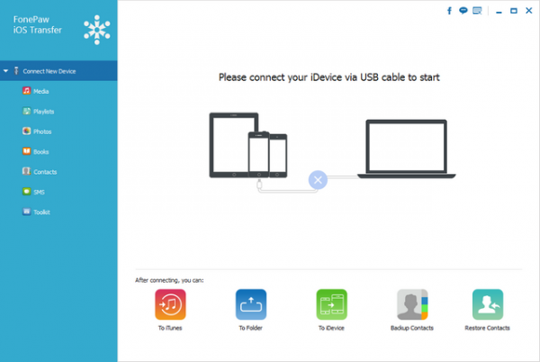 FonePaw iOS Transfer 2.4.0
