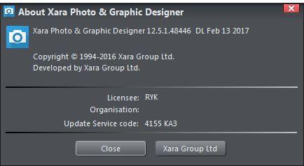 Xara Photo & Graphic Designer 365 12.5.1.48446