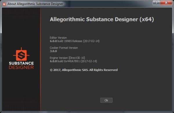 Allegorithmic Substance Designer 6.0.0.562