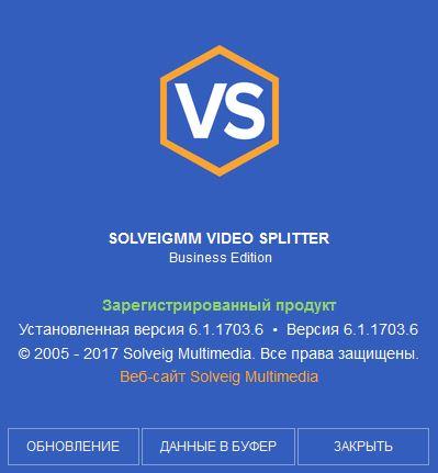 SolveigMM Video Splitter 6.1.1703.6 Business Edition Beta