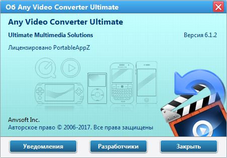 Any Video Converter Ultimate 6.1.2 + Portable