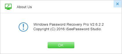 iSeePassword Windows Password Recovery Pro 2.6.2.2