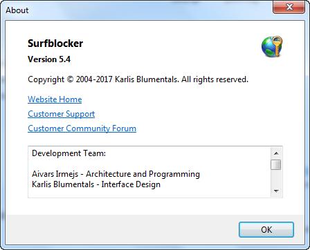 Blumentals Surfblocker 5.4.0.55