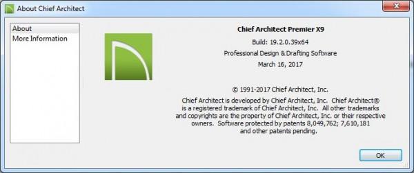Chief Architect Premier X9 19.2.0.39