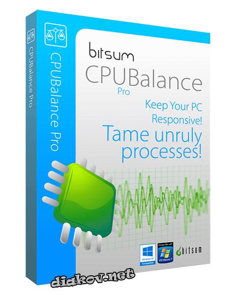 Bitsum CPUBalance Pro 1.0.0.64