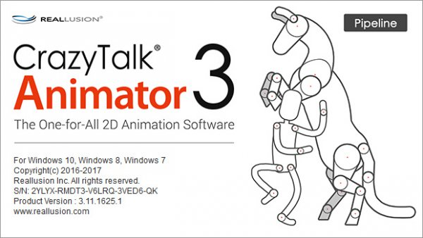 CrazyTalk Animator 3.11.1625.1 Pipeline + Resource Pack