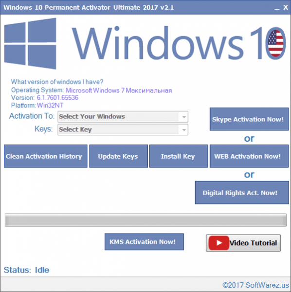 Windows 10 Permanent Activator Ultimate 2.1