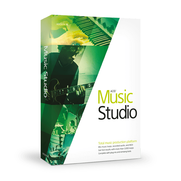 Magix ACID Music Studio 10.0 Build 162