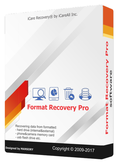 iCare Format Recovery Pro 6.1.7 + Portable