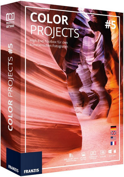 Franzis COLOR projects Pro 5.52.02653 + Rus