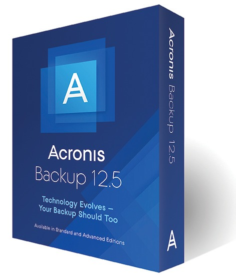 Acronis Cyber Backup 12.5.16386 BootCD