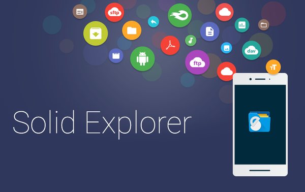 Solid Explorer 2.8.12 Full + Plugins + Icons Pack