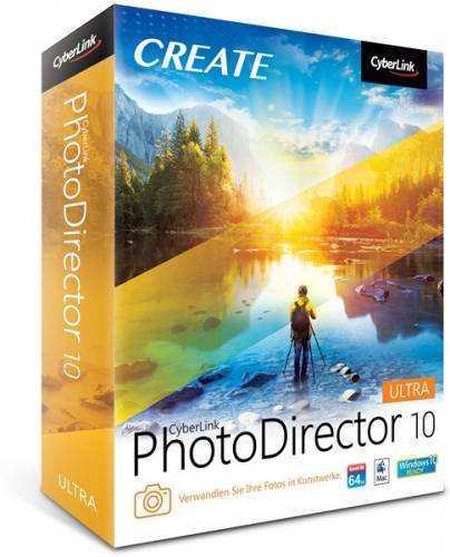 CyberLink PhotoDirector Ultra 10.0.2509.0 + Rus