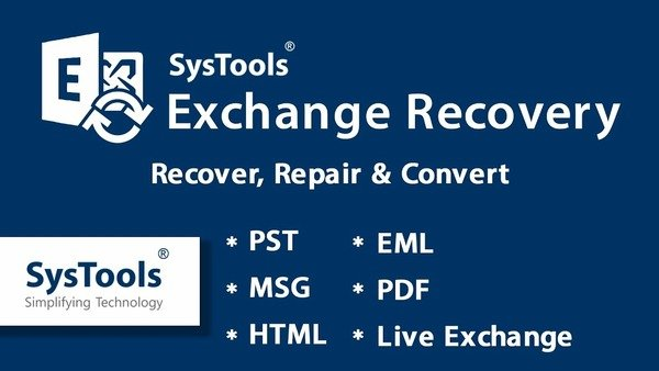 SysTools Exchange Recovery 8.0