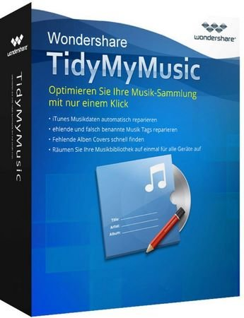 Wondershare TidyMyMusic 2.1.0.3