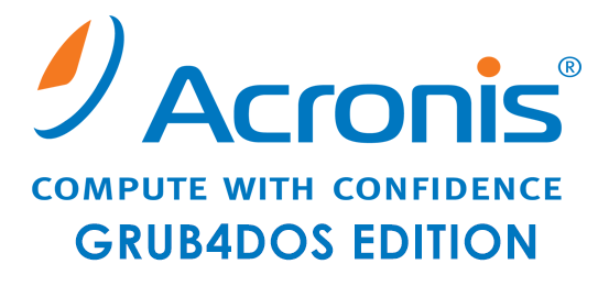 Acronis BootDVD Grub4Dos Edition 13.08.20