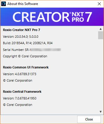roxio creator nxt pro 5 serial key