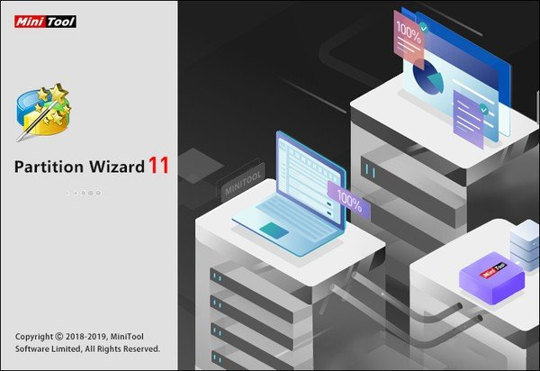 MiniTool Partition Wizard 11.6 Técnico + Rus