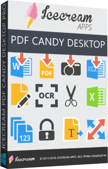 Icecream PDF Candy Desktop Pro 2.80 + Portable