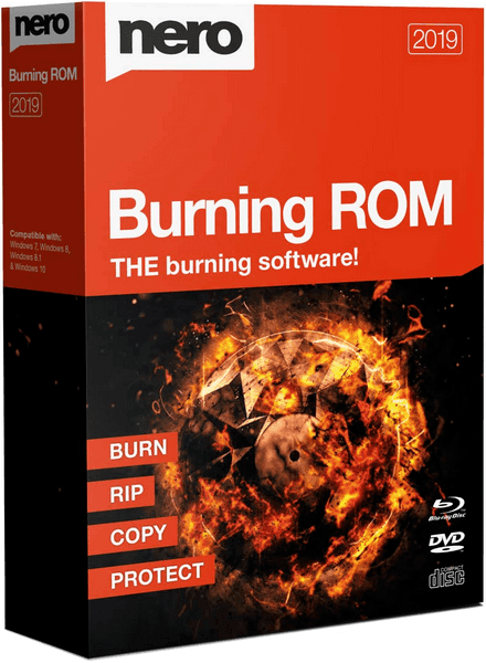 Nero Burning ROM 2019 v20.0.2014 + Portable