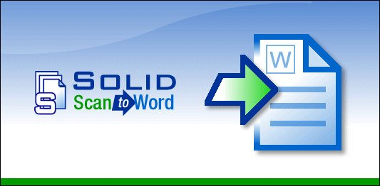 Solid Scan to Word 10.0.9341.3476
