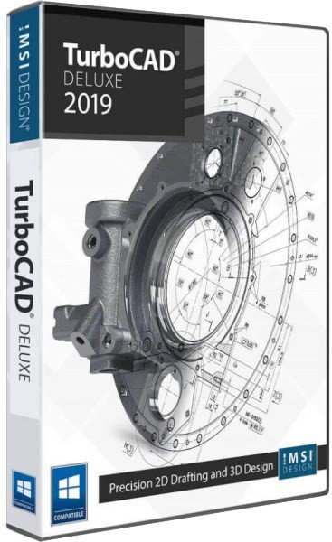 IMSI TurboCAD 2019 Deluxe 26.0 Build 24.4