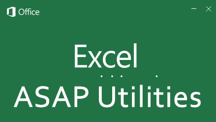 ASAP Utilities for Excel 7.6.2