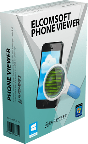 Elcomsoft Phone Viewer Forensic Edition 4.60 Build 34136