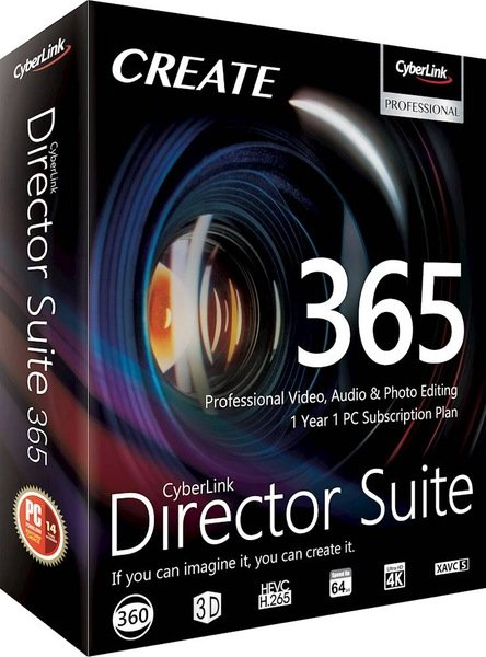 CyberLink Director Suite 365 v8.0 + Content Packs + Rus