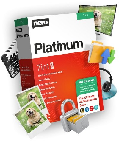 Nero Platinum 2020 Suite 22.0.02400 + Content Packs